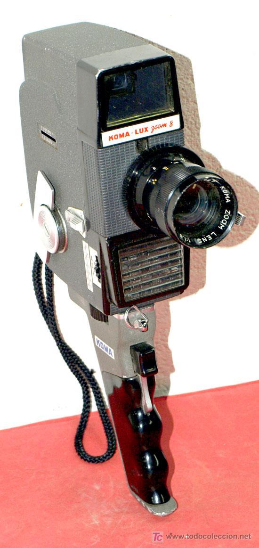 CAMARA KOMA-LUX ZOOM DE 8MM (Antigüedades - Técnicas - Aparatos de Cine Antiguo - Cámaras de Super 8 mm Antiguas)