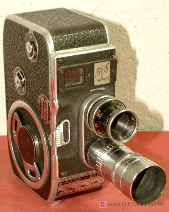 CAMARA PAILLARD BOLEX B8 DE 8MM (Antigüedades - Técnicas - Aparatos de Cine Antiguo - Cámaras de Super 8 mm Antiguas)