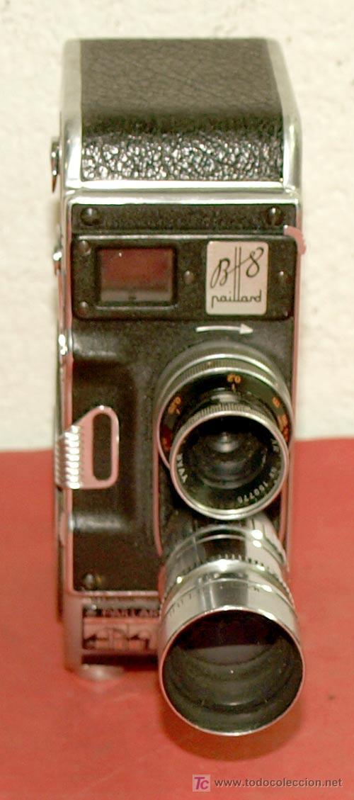 Antigüedades: CAMARA PAILLARD BOLEX B8 DE 8MM - Foto 2 - 10473819