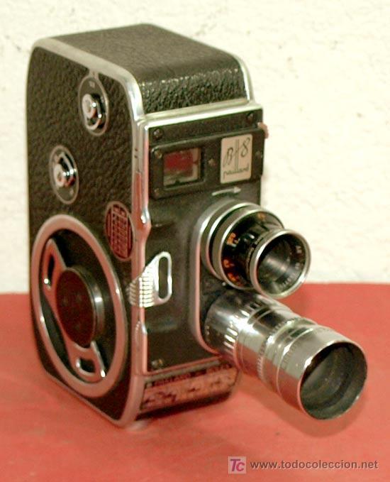 Antigüedades: CAMARA PAILLARD BOLEX B8 DE 8MM - Foto 3 - 10473819