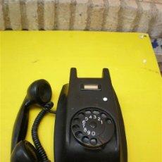 Teléfonos: TELEFONO DE PARED Y BAQUELITA EN NEGRO,. Lote 8607223