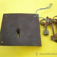 Antigüedades: CERRADURA ANTIGUA. Lote 8633817