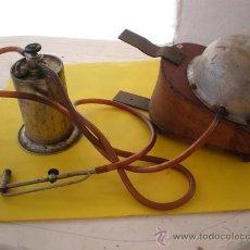 Antigüedades: SOPLETA ANTIGUO DE GASOLINA. Lote 9603237