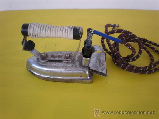 PLANCHA ELECTRICA ANTIGUA (Antigüedades - Técnicas - Planchas Antiguas)