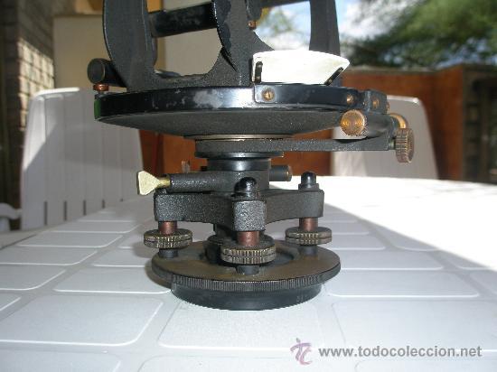 Antigüedades: TEODOLITO TODO BRONCE DE PRINCIPIOS SIGLO XX - KEUFFEL & ESSER . U. S. A. - Foto 13 - 15651304