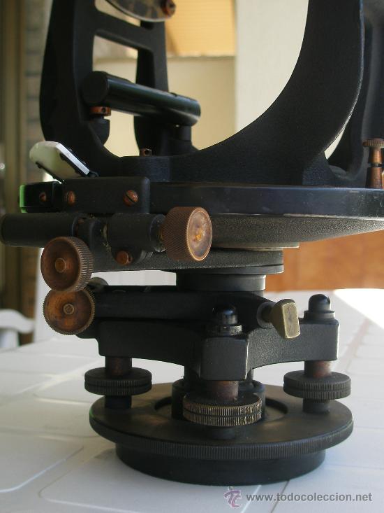 Antigüedades: TEODOLITO TODO BRONCE DE PRINCIPIOS SIGLO XX - KEUFFEL & ESSER . U. S. A. - Foto 16 - 15651304