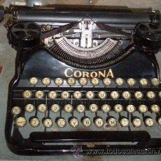 Antigüedades: MÁQUINA DE ESCRIBIR CORONA. Lote 26608585