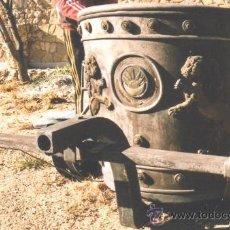 Antigüedades: IDEAL COMO RECLAMO O PARA JARDIN, CUADRIGA Y BIGA DE COMBATE PARA 2 O 4 CABALLO S, ESPECTACULAR. Lote 20117247