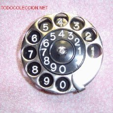 Teléfonos: ANTIGUO DISCO TELEFÓNICO. Lote 21392937