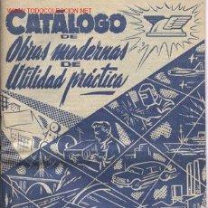 Antigüedades: CATÁLOGO OBRAS MODERNAS DE UTILIDAD PRACTICA. Lote 25505129