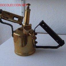 Antigüedades: PRECIOSO SOPLETE DE MINA. Lote 26531583
