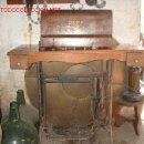 Antigüedades: MAQUINA DE COSER SIGMA CON PIE DE HIERRO-ORIGINAL.. Lote 27092743