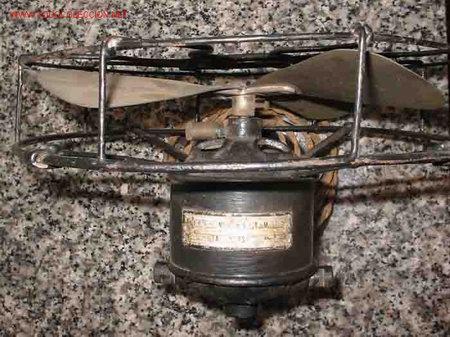 Antigüedades: ANTIGUO VENTILADOR VINTAGE. Aspas metal. Hierro - Foto 3 - 45161566