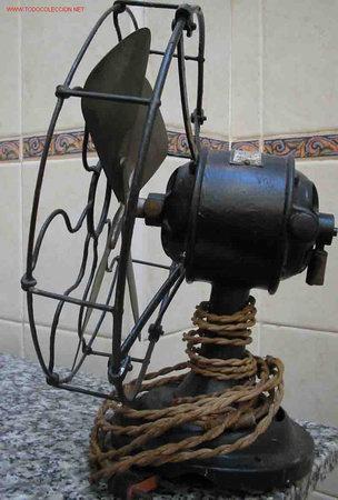 Antigüedades: ANTIGUO VENTILADOR VINTAGE. Aspas metal. Hierro - Foto 5 - 45161566
