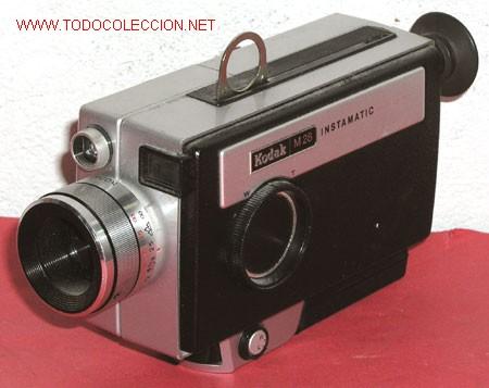 KODAK M28 DE SUPER 8MM (Antigüedades - Técnicas - Aparatos de Cine Antiguo - Cámaras de Super 8 mm Antiguas)
