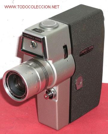 CINEMAX DE 8MM (Antigüedades - Técnicas - Aparatos de Cine Antiguo - Cámaras de Super 8 mm Antiguas)