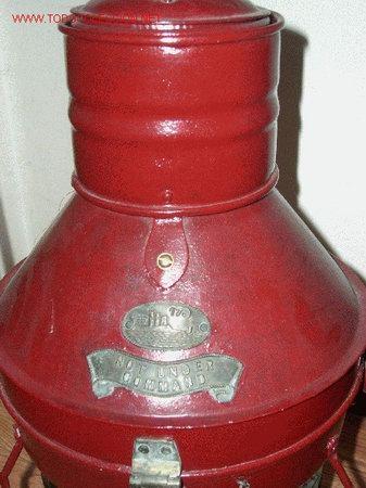 Antigüedades: FAROL MARINO, DE ACEITE - Foto 3 - 23305219