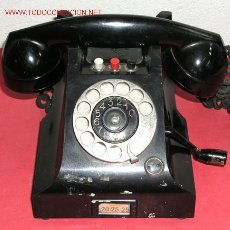 Teléfonos: TELEFONO SOBREMESA TELEGRAFVERKETS . Lote 12313812