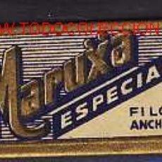 Antigüedades: HOJA DE AFEITAR MARUXA (ESPAÑOLA). Lote 2369363