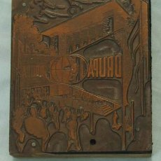 Antigüedades: PLANCHA IMPRENTA DRUPA. Lote 17547443