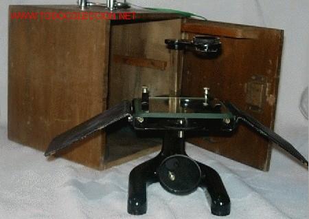 Antigüedades: LUPA O MICROSCOPIO EN SU CAJA - Foto 2 - 27129681