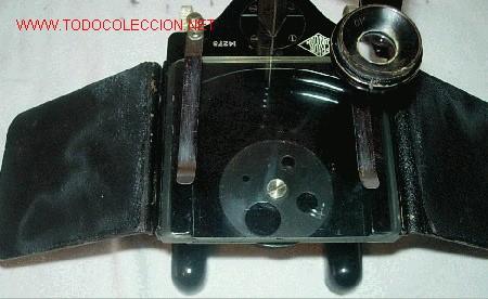 Antigüedades: LUPA O MICROSCOPIO EN SU CAJA - Foto 4 - 27129681