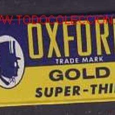 Antigüedades: HOJA DE AFEITAR OXFORD. Lote 2726156