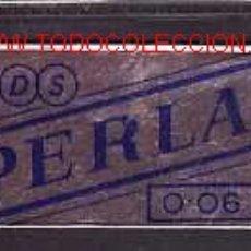 Antigüedades: HOJA DE AFEITAR PERLA. Lote 2570497