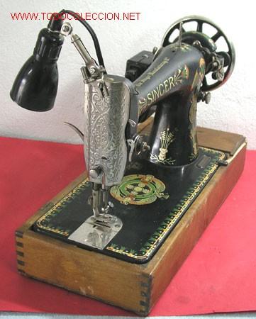 MAQUINA DE COSER SINGER ANTIGUA (Antigüedades - Técnicas - Máquinas de Coser Antiguas - Singer)
