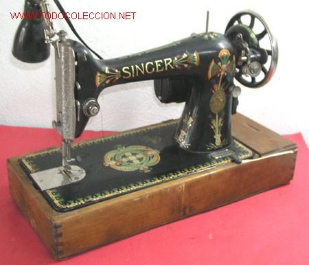 Antigüedades: MAQUINA DE COSER SINGER ANTIGUA - Foto 4 - 12302223