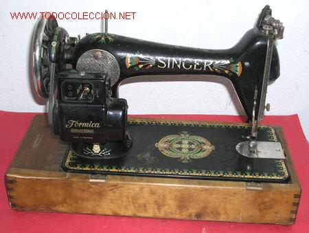 Antigüedades: MAQUINA DE COSER SINGER ANTIGUA - Foto 6 - 12302223