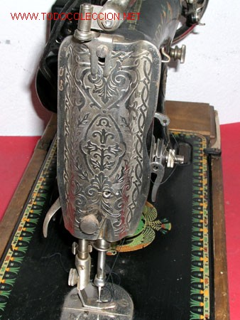Antigüedades: MAQUINA DE COSER SINGER ANTIGUA - Foto 8 - 12302223