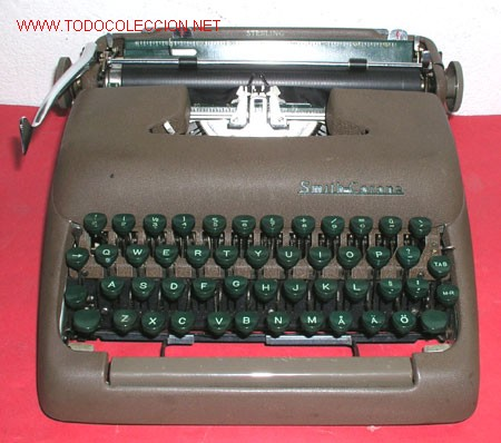 MAQUINA DE ESCRIBIR SMITH CORONA STERLING (Antigüedades - Técnicas - Máquinas de Escribir Antiguas - Smith)