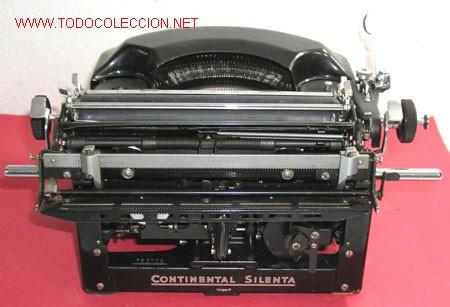 Antigüedades: MAQUINA DE ESCRIBIR CONTINENTAL SILENTA - Foto 5 - 12302207