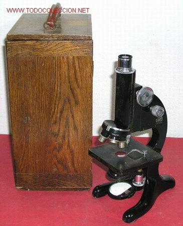 MICROSCOPIO BECK CON CAJA (Antigüedades - Técnicas - Instrumentos Ópticos - Microscopios Antiguos)