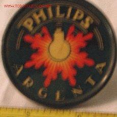 Antigüedades: PHILIPS .MAGNIFICO ESPEJO DE PROPAGANTA . MUY ANTIGUO. Lote 15027635