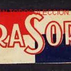 Antigüedades: HOJA DE AFEITAR RASOR. Lote 2733415