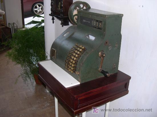 Antigüedades: CAJA REGISTRADORA - Foto 3 - 3031856
