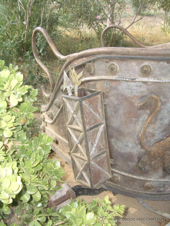 Antigüedades: IDEAL COMO RECLAMO O PARA JARDIN, CUADRIGA Y BIGA DE COMBATE PARA 2 O 4 CABALLO S, ESPECTACULAR - Foto 3 - 20117247