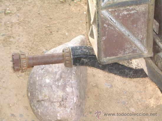 Antigüedades: IDEAL COMO RECLAMO O PARA JARDIN, CUADRIGA Y BIGA DE COMBATE PARA 2 O 4 CABALLO S, ESPECTACULAR - Foto 5 - 20117247