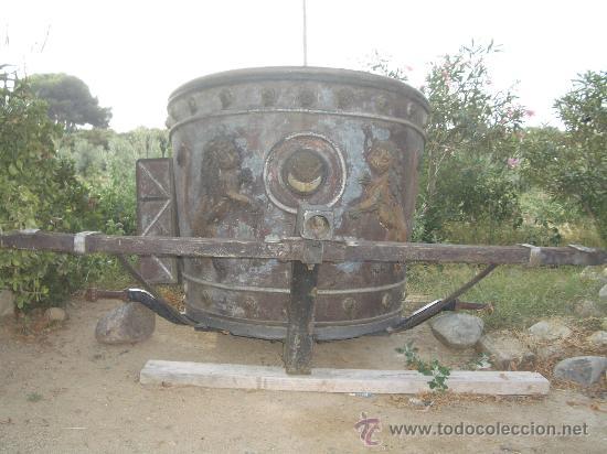 Antigüedades: IDEAL COMO RECLAMO O PARA JARDIN, CUADRIGA Y BIGA DE COMBATE PARA 2 O 4 CABALLO S, ESPECTACULAR - Foto 6 - 20117247
