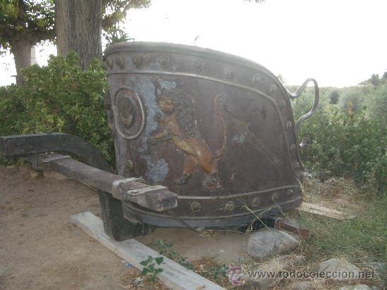 Antigüedades: IDEAL COMO RECLAMO O PARA JARDIN, CUADRIGA Y BIGA DE COMBATE PARA 2 O 4 CABALLO S, ESPECTACULAR - Foto 8 - 20117247