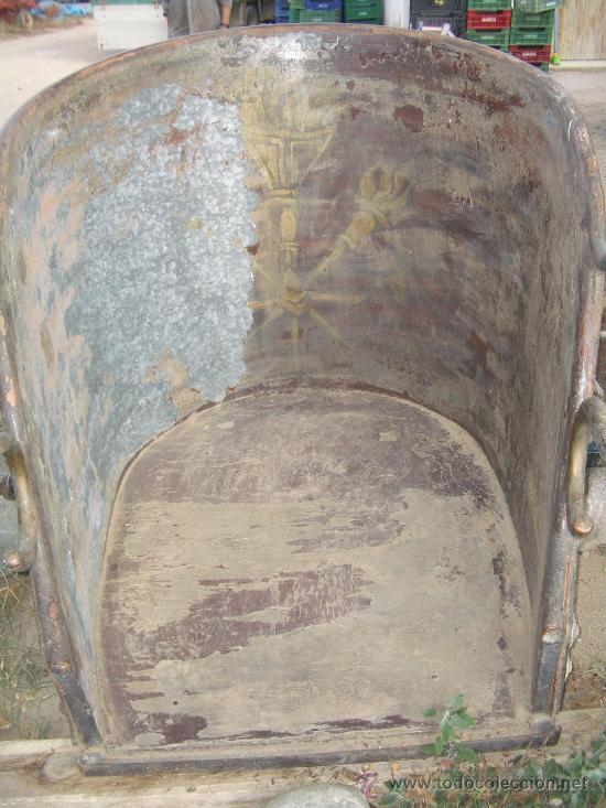 Antigüedades: IDEAL COMO RECLAMO O PARA JARDIN, CUADRIGA Y BIGA DE COMBATE PARA 2 O 4 CABALLO S, ESPECTACULAR - Foto 10 - 20117247