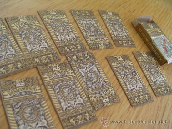 HOJAS DE AFEITAR RENACIMIENTO CAJA CON 10 UNIDADES (Antigüedades - Técnicas - Barbería - Varios Barbería Antiguas)