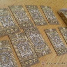 Antigüedades: HOJAS DE AFEITAR RENACIMIENTO CAJA CON 10 UNIDADES. Lote 35011026
