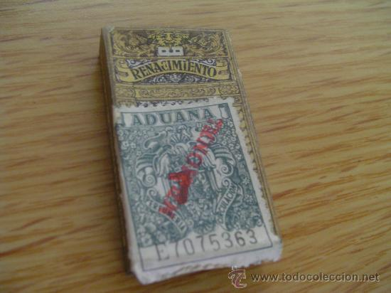 Antigüedades: hojas de afeitar renacimiento caja con 10 unidades - Foto 2 - 35011026