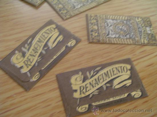 Antigüedades: hojas de afeitar renacimiento caja con 10 unidades - Foto 3 - 35011026