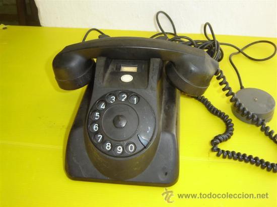 TELEFONO DE BAQUELITA PHILISP (Antigüedades - Técnicas - Teléfonos Antiguos)