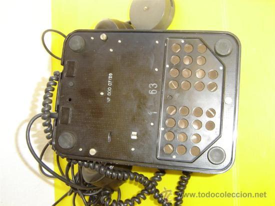 Teléfonos: telefono de baquelita Philisp - Foto 2 - 9850044