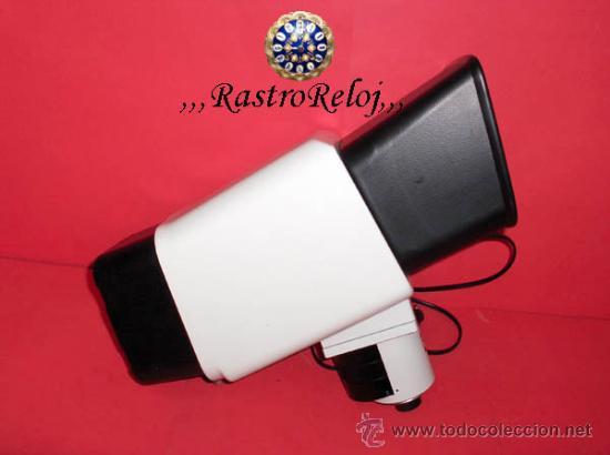 ,,,PANTALLA - WILL,,,CON DISCO GIRATORIO ELÉCTRICO PARA MICROSCOPIO,,, (Antigüedades - Técnicas - Instrumentos Ópticos - Microscopios Antiguos)